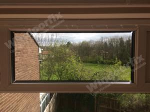 Repaired window