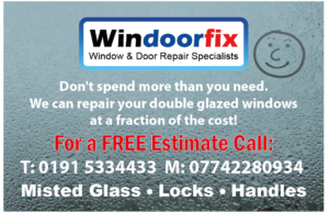 Window repair business card