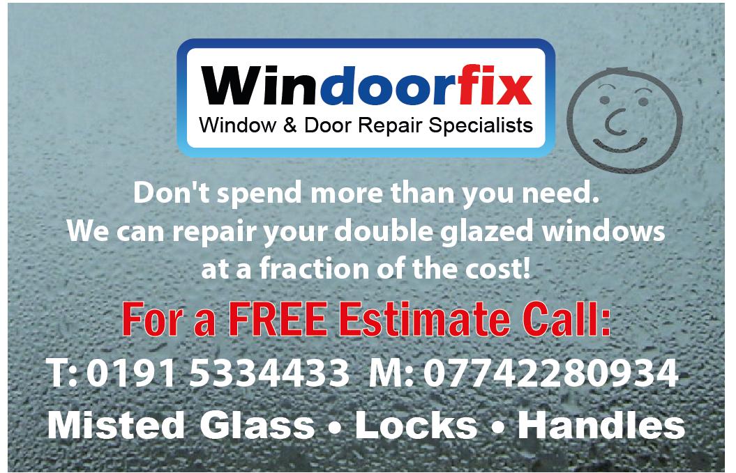 Window repair business card