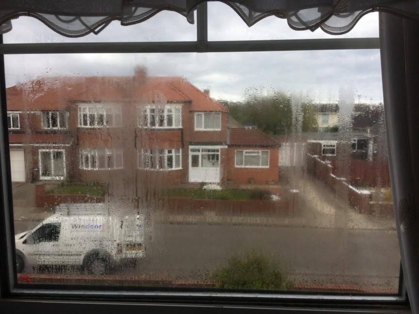 Foggy Window Before