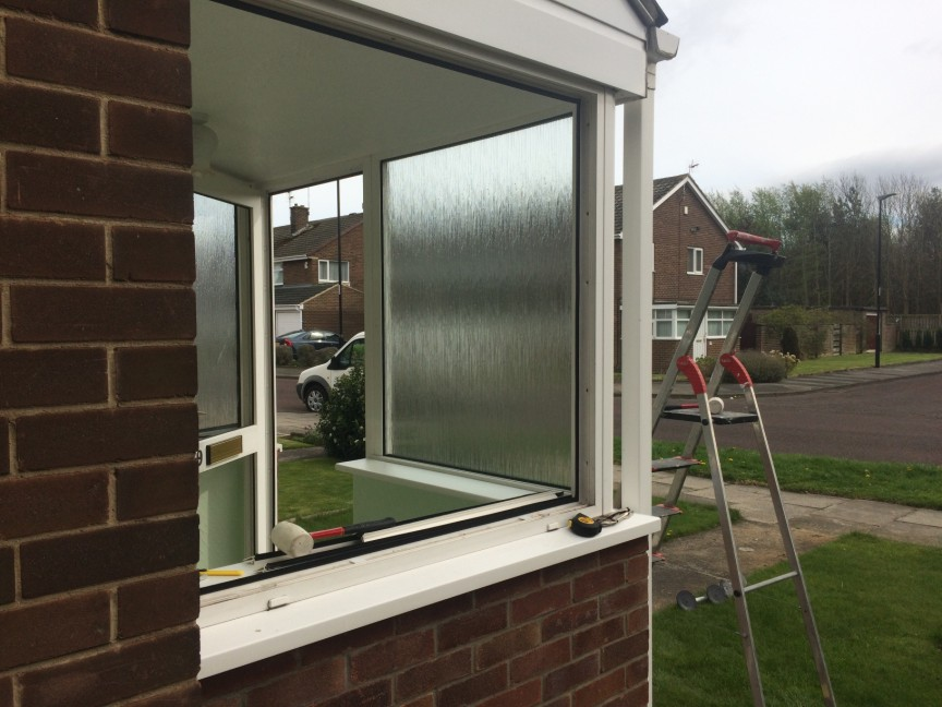 Full Porch Glass Replacement